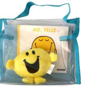 Pack especial Mr. Feliz: libro + peluche