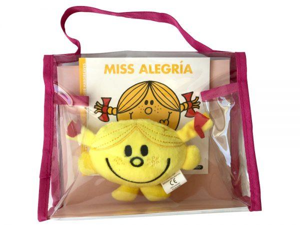 Pack especial Miss Alegría: libro + peluche