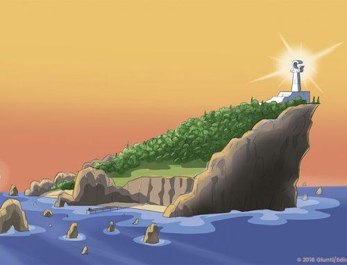 Una isla que esconde muchos secretos y un grupo de amigos que los descubrirán