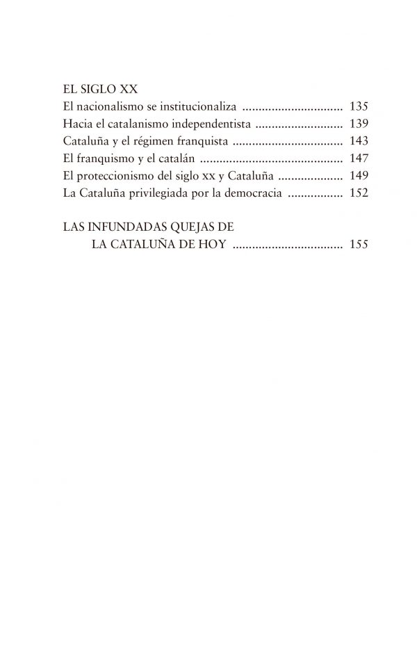 Cataluña índice