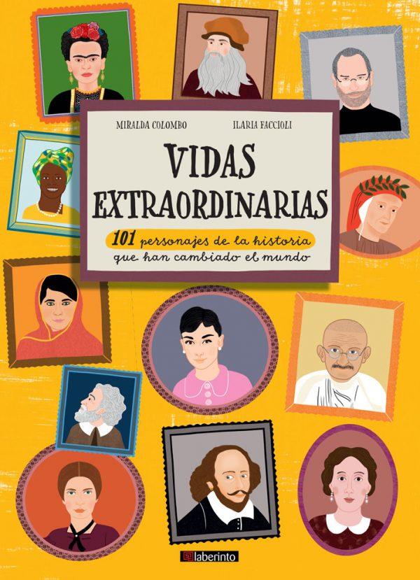 Cubierta Vidas extraordinarias