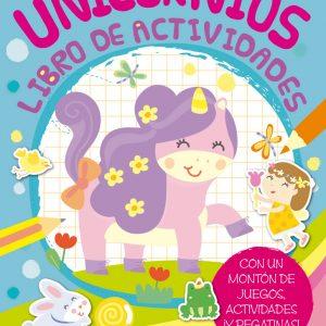 Cubierta Unicornios. Libro de actividades
