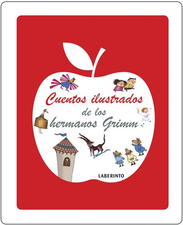Cubierta Cuentos ilustrados hermanos Grimm