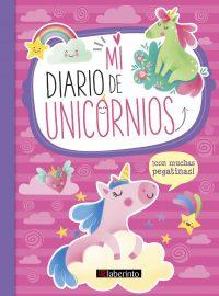 Cubierta Diario de unicornios