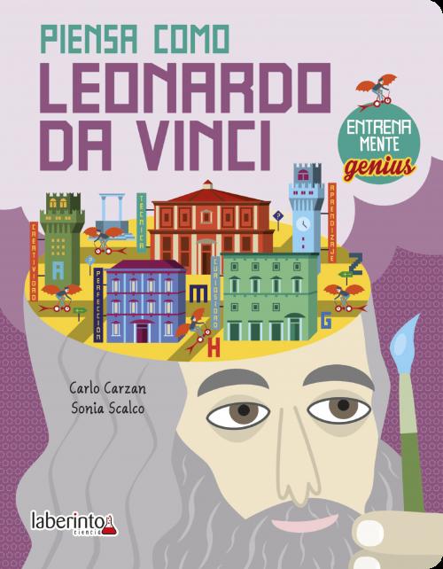 Cubierta Piensa como Leonardo