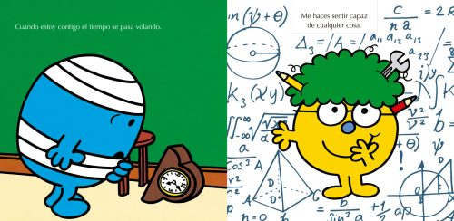 Interior Mr. Men Te quiero
