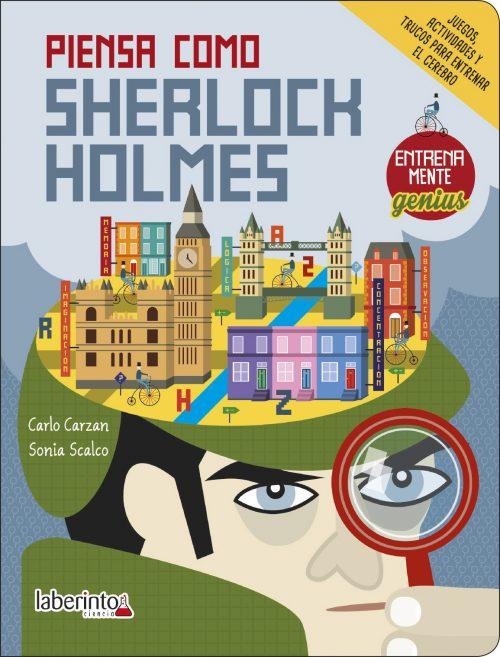Cubierta Piensa como Sherlock Holmes