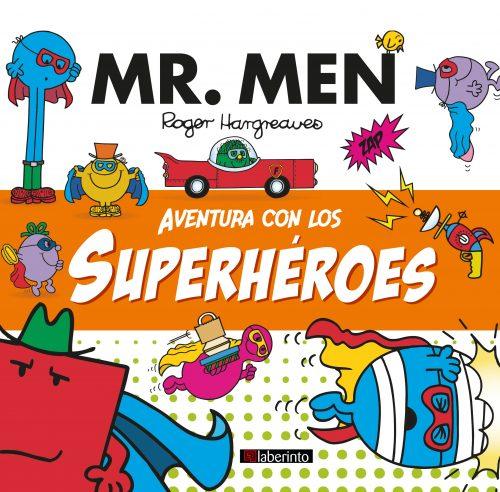 Cubierta Aventura con los superhéroes